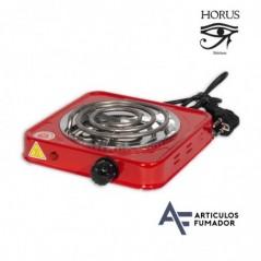 Calentador rojo eléctrico para carbón de shishas «HORUS» 220V – 1000W.