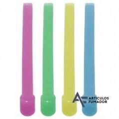 100 Boquillas Shisha Plástico 9 5 Cm