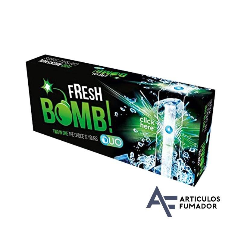 Tubos Fresh Bomb! Menta Fuerte Artic Menta- 5 cajitas de 100 unidades