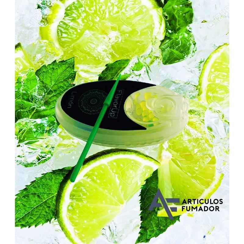 PACK 3 CAJITAS FLAVORUP CAPSULA DE LIMON 100 PARA INSERTAR EN EL FILTRO