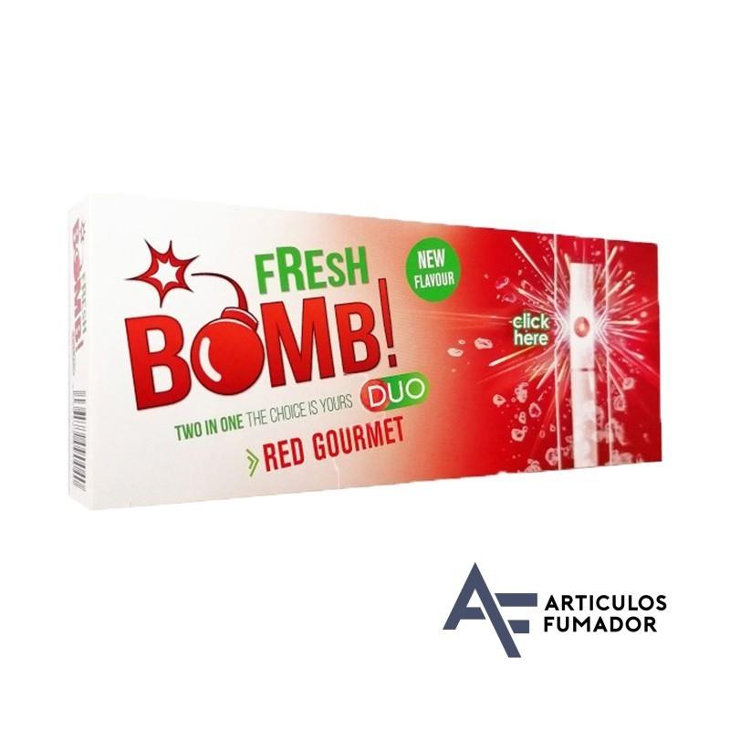 Tubos Fresh Bomb! Red Gourmet – 5 cajitas de 100 unidades
