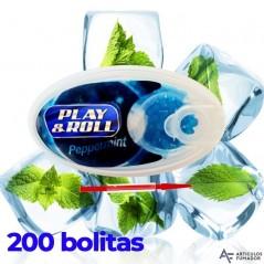 CAJITA PLAY&ROLL CAPSULA DE MENTA FRESCA 200 PARA INSERTAR EN EL FILTRO