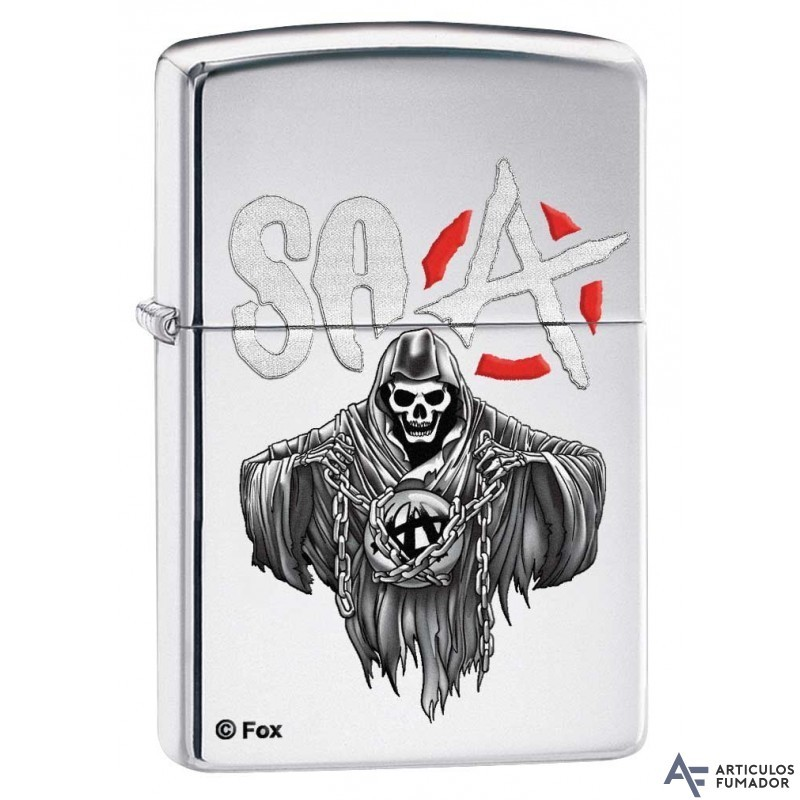 ZIPPO SONS OF ANARCHY FOX MADE IN U.S.A